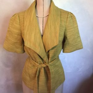 3/$25 Limited Cotton Blend Tweed Jacket